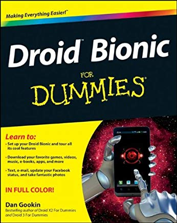Droid Bionic For Dummies Cover