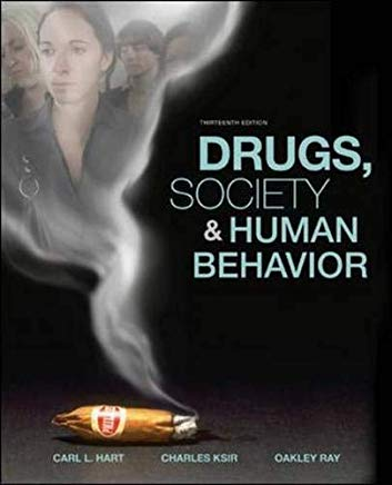 Drugs, Society, and Human Behavior Cover