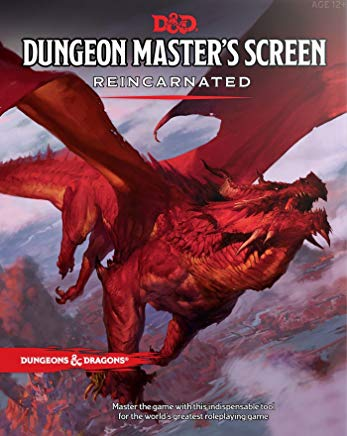 Dungeon Master's Screen Reincarnated (Dungeons & Dragons) Cover