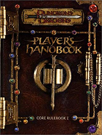 Dungeons & Dragons Player's Handbook: Core Rulebook 1 Cover