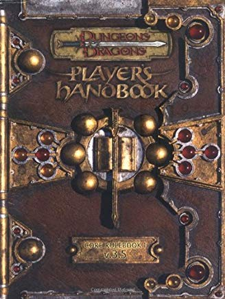 Dungeons & Dragons Player's Handbook: Core Rulebook I v.3.5 Cover