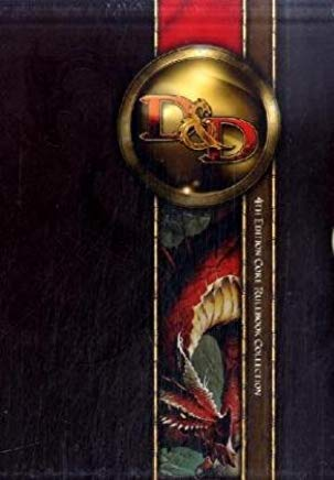 Dungeons and Dragons Core Rulebook Gift Set, 4th Edition Cover