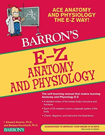 E-Z Anatomy and Physiology (Barron's Easy Series) Cover