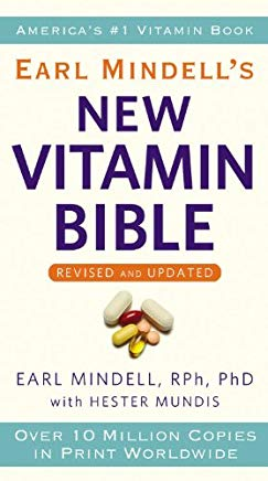 Earl Mindell's New Vitamin Bible Cover