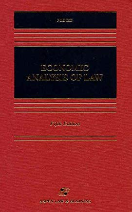 Economic Analysis of Law (Casebook) Cover