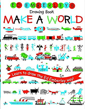 Ed Emberley's Drawing Book: Make a World Cover