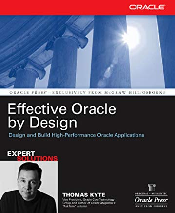 Effective Oracle by Design (Oracle Press) Cover