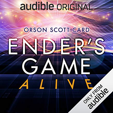 Ender's Game Alive: The Full Cast Audioplay Cover