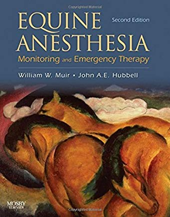 Equine Anesthesia: Monitoring and Emergency Therapy Cover