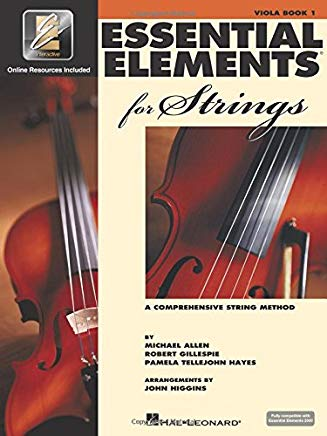 Essential Elements for Strings - Book 1 with EEi: Viola Cover