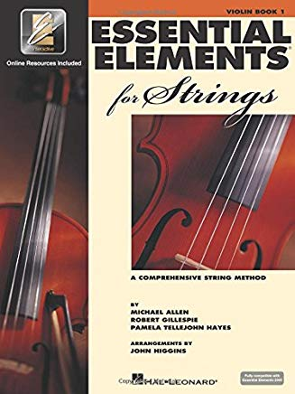 Essential Elements for Strings - Book 1 with EEi: Violin Cover