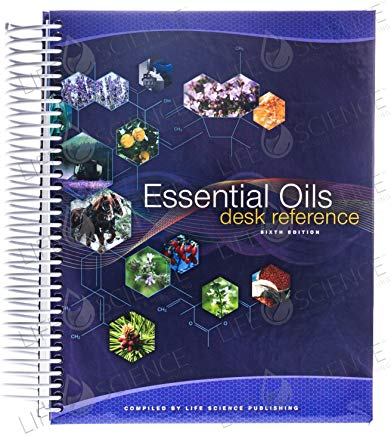Essential Oils Pocket Reference by Life Science Publishing (2014) Spiral-bound Cover