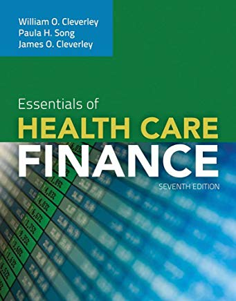 Essentials of Health Care Finance Cover