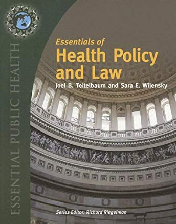 Essentials of  Health Law and Policy Cover