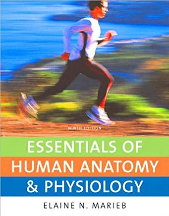Essentials of Human Anatomy & Physiology 9th (Ninth) edition by E. N. Marieb Cover