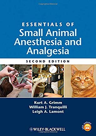 Essentials of Small Animal Anesthesia and Analgesia Cover