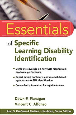 Essentials of Specific Learning Disability Identification Cover