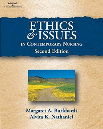 Ethics And Issues In Contemporary Nursing Cover
