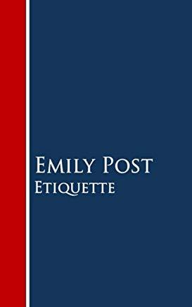 Etiquette Cover