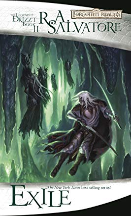Exile: The Legend of Drizzt, Book II Cover