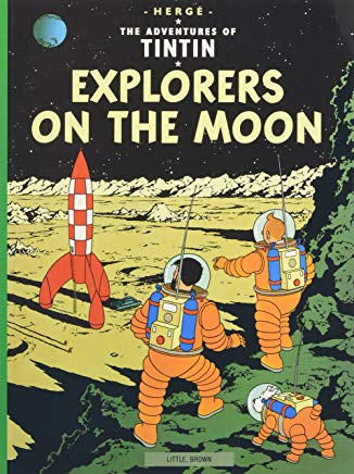 Explorers on the Moon (The Adventures of Tintin) Cover
