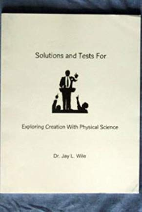 Exploring Creation With Physical Science Solutions And Tests Cover