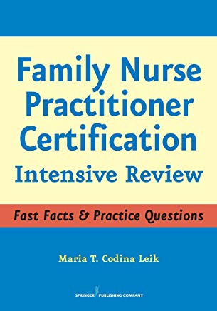 Family Nurse Practitioner Certification: Intensive Review Cover