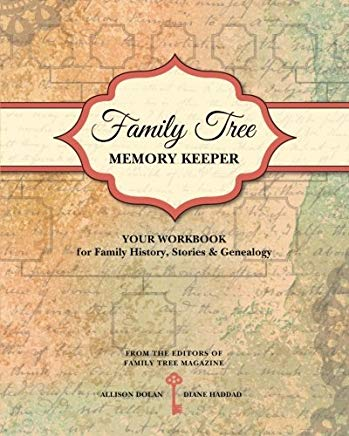 Family Tree Memory Keeper: Your Workbook for Family History, Stories and Genealogy Cover