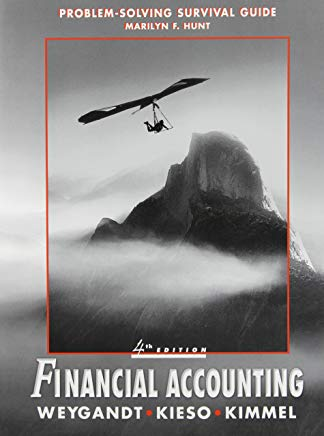 Financial Accounting, Self Study Problems/Solutions Book Cover