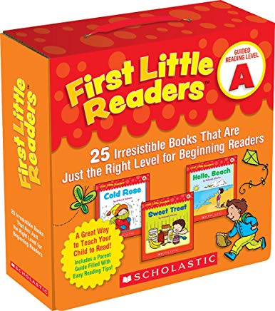 First Little Readers Parent Pack: Guided Reading Level A: 25 Irresistible Books That Are Just the Right Level for Beginning Readers Cover