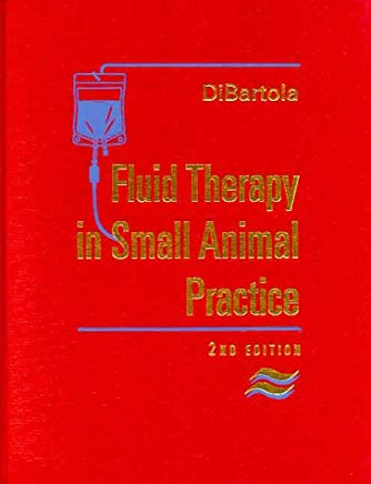 Fluid Therapy in Small Animal Practice Cover