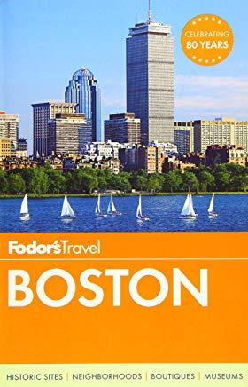 Fodor's Boston (Full-color Travel Guide) Cover