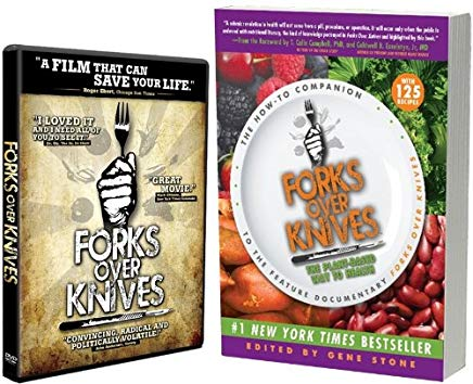 Forks Over Knives (Book & DVD Combo Package) Cover
