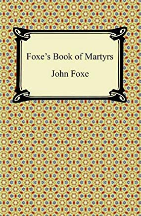 Foxe's Book of Martyrs Cover