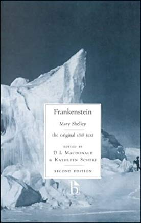 Frankenstein, second edition (Broadview Literary Texts) Cover