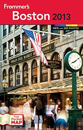 Frommer's Boston (Frommer's Color Complete) Cover