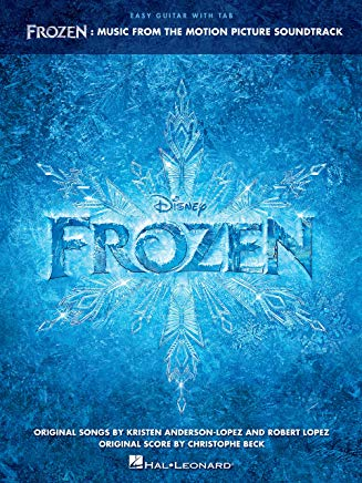 Frozen - Easy Guitar Songbook: Music from the Motion Picture Soundtrack Cover