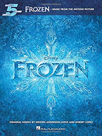 Frozen: Music From The Motion Picture For Five-Finger Piano Cover
