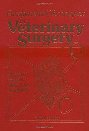 Fundamental Techniques in Veterinary Surgery Cover