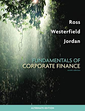 Fundamentals of Corporate Finance Alternate Edition with Connect Plus Access Card Cover