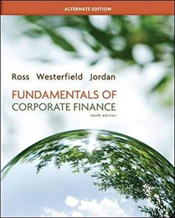 Fundamentals of Corporate Finance Alternate Edition with Connect Plus (Mcgraw-Hill/Irwin Series in Finance, Insurance, and Real Estate) Cover