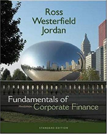 Fundamentals Of Corporate Finance (Mcgraw-Hill/Irwin Series in Finance, Insurance, and Real Estate) Cover
