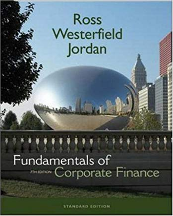 Fundamentals of Corporate Finance Standard Edition + S&P Card + Student CD Cover