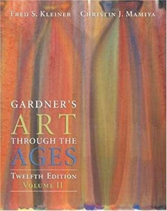 Gardner's Art Through the Ages, Volume II (12th Edition) Text Only Cover