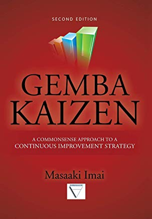 Gemba Kaizen: A Commonsense Approach to a Continuous Improvement Strategy, Second Edition Cover