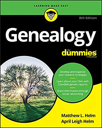 Genealogy For Dummies (For Dummies (Computer/Tech)) Cover