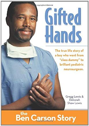 Gifted Hands, Kids Edition: The Ben Carson Story (ZonderKidz Biography) Cover