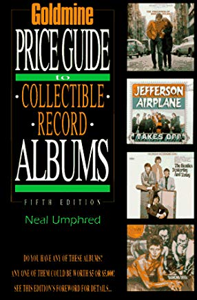 Goldmine's Price Guide to Collectible Record Albums (GOLDMINE RECORD ALBUM PRICE GUIDE) Cover