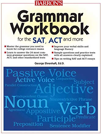 Grammar Workbook for the SAT, ACT, and More Cover