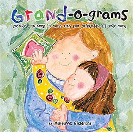 Grand-o-grams: Postcards to Keep in Touch with Your Grandkids All Year Round (Marianne Richmond) Cover